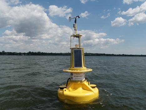 susquehanna buoy redeployed chesapeake bay interpretive buoy system